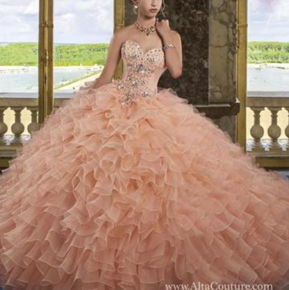 2fcb23a4135 Alta Couture quince  sweet 16 dress Dresses